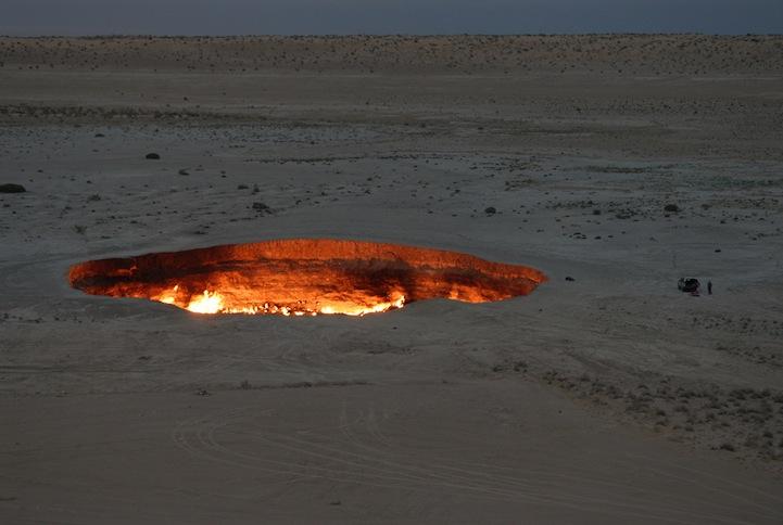 врата ада в туркменистане